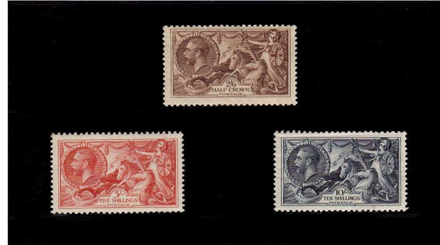 view larger image for SG 450-452 (1934) - George 5th<br/>