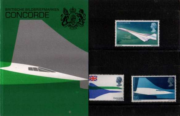 Stamp Image: view larger back view image for Concorde - GERMAN