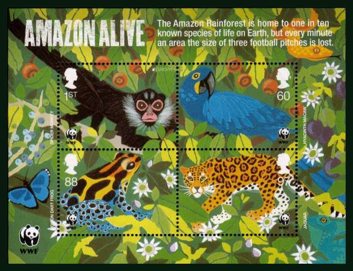 view larger image for SG MS3172 (22 Mar 2011) - 50th Anniversary of WWF<br/>