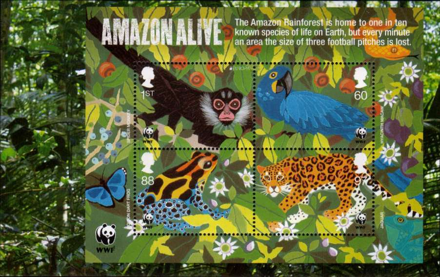 view larger image for SG MS3172a (22 Mar 2011) - 50th Anniversary of WWF<br/>
