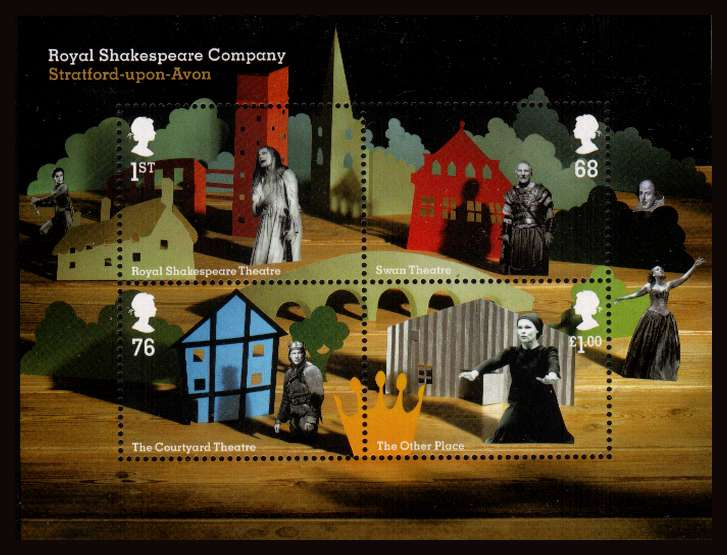 view larger image for SG MS3179 (12 April 2011) - Royal Shakespeare Company<br/>