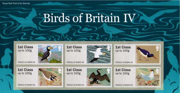 Stamp Image: view larger back view image for ''Post & Go''<br/>