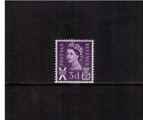 view larger image for SG S1p (1963) - 3d Deep Lilac - 2 Bands
