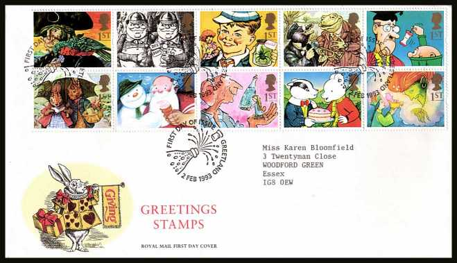 British stamps browse stamps first day covers collection view larger back view image for greetings stamps gift giving pane m4hsunfo