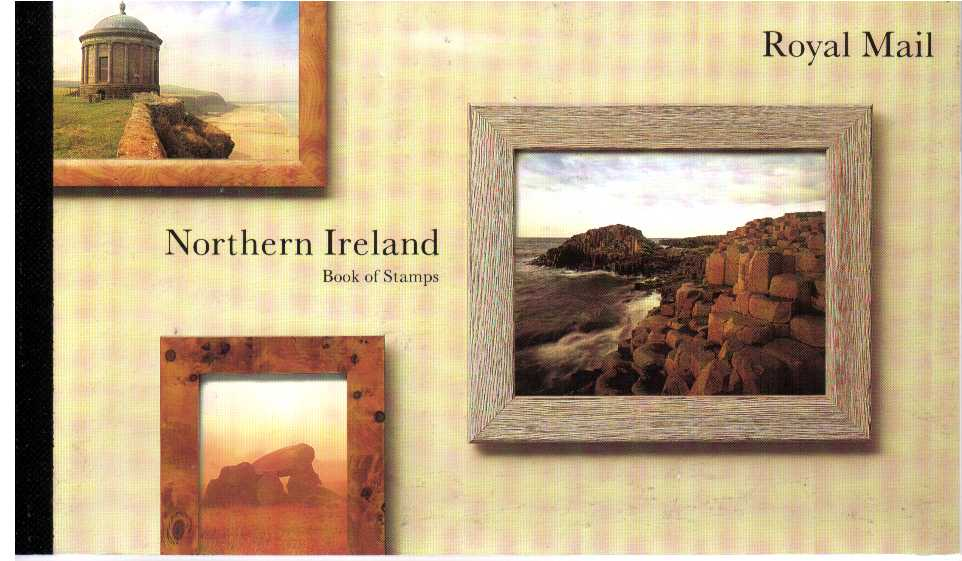 British Stamps Prestige Booklets Item: view larger image for SG DX16 (1994) - �6.04 - 'Northern Ireland'