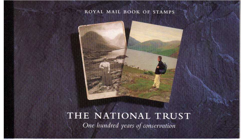 British Stamps Prestige Booklets Item: view larger image for SG DX17 (1995) - �6 - Centenary of the National Trust