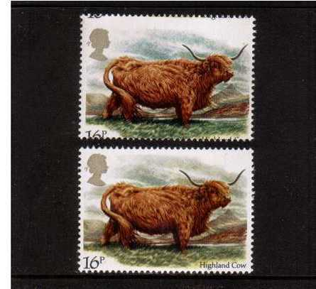 view more details for stamp with SG number SG 1240var