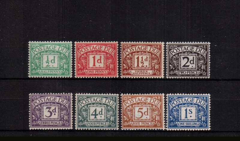view larger image for SG D1-D8 (1914) - Royal Cypher set of eight<br/>