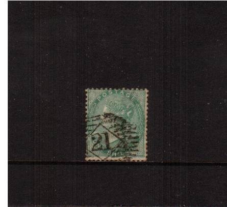 view larger image for SG 72 (1856) - 1/- Green<br/>