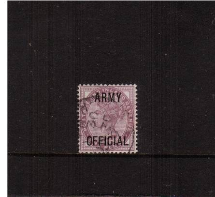 view larger image for SG O43 (1896) - <b>ARMY OFFICIAL</b><br/>