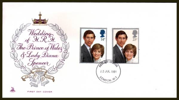 Royal Wedding Cancelled.British Stamps Browse Stamps First Day Covers Collection