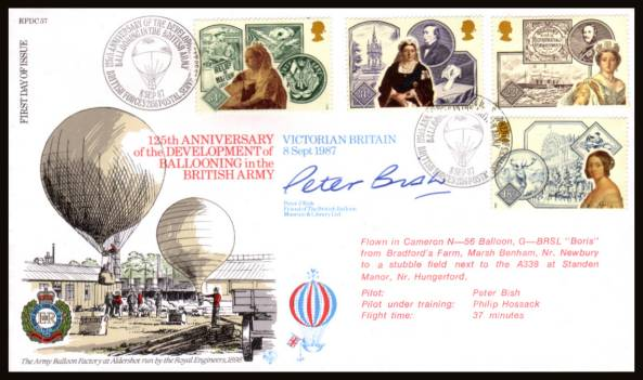 view larger back view image for Accession of Queen Victoria set of four on an unaddressed