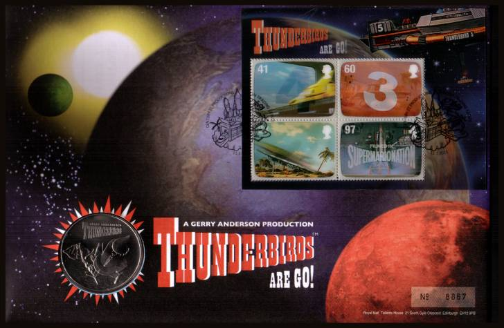 view larger image for SG RMC89 (2011) - Royal Mail and Royal Mint commemorative cover commemorating:<br/> 