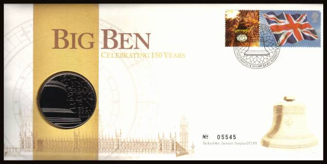 view larger image for SG RMC75 (2009) - Royal Mail and Royal Mint commemorative cover commemorating:<br/> 