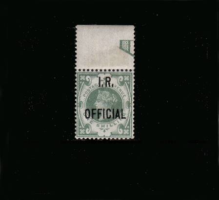 view larger image for SG O15 (1889) - <b>I. R. OFFICIAL</b><br/>