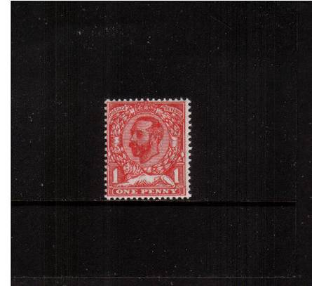 view larger image for SG 328 (1911) - 1d Pale Carmine - Die A - Watermark Crown<br/>