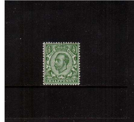 view larger image for SG 340 (1912) - �d Yellow-Green - Watermark Crown<br/>
