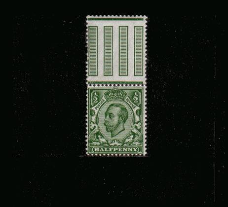 view larger image for SG 338 (1912) - �d Deep Green - Watermark Crown<br/>