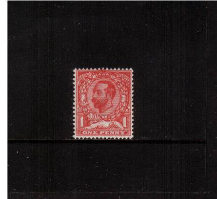 view larger image for SG 328 (1912) - 1d Pale Carmine - Die A - Watermark Crown<br/>