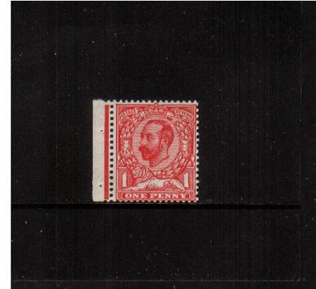 view larger image for SG 337 (1912) - 1d Bright Scarlet - Die B - Watermark Simple Cypher<br/>