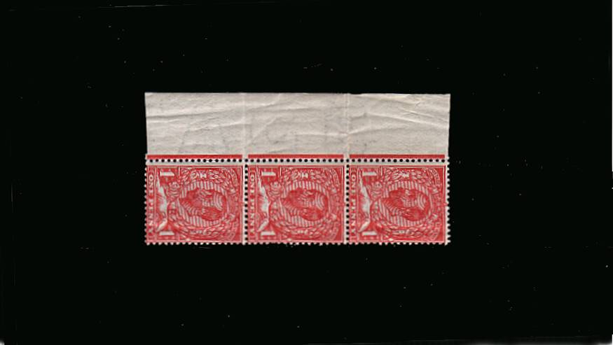 view larger image for SG 330 (1911) - 1d Pale Carmine - Die B - Watermark Crown<br/>