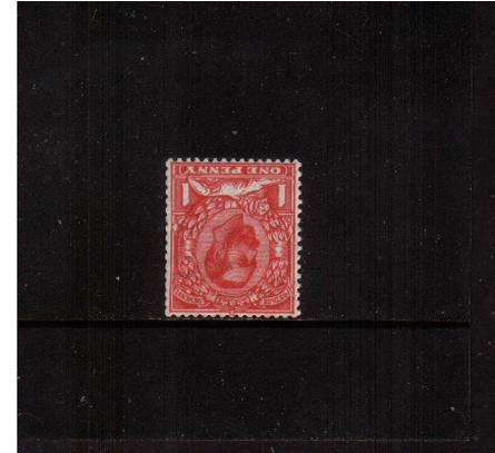 view larger image for SG 332Wi (1911) - 1d Scarlet - Die B - Watermark Crown<br/>