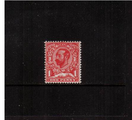 view larger image for SG 327var (1911) - 1d Carmine-Red - Die A - Watermark Crown<br/>