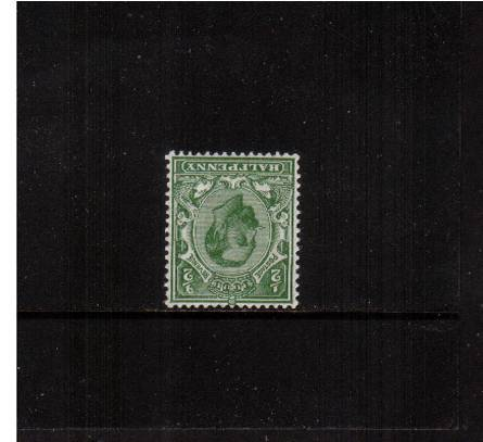 view larger image for SG 334Wi (1912) - �d Pale Green - Die B - Watermark Simple Cypher<br/>