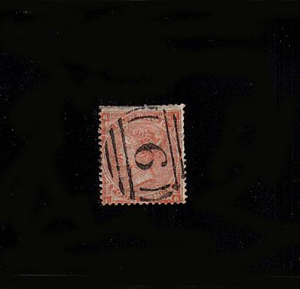 view larger image for SG 81 (1863) - 4d Bright Red from Plate 4 (with hairlines) lettered ''I-B''  