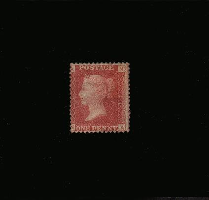 view larger image for SG 43 (1864) - 1d Rose-Red from Plate 93 lettered ''N-A''