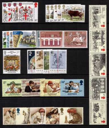 view larger image for Commemorative Year Sets -  (1984) - <BR/>