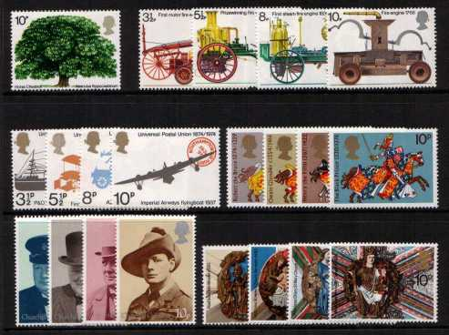 view larger image for Commemorative Year Sets -  (1974) - <BR/>