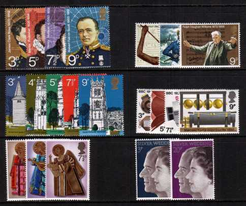 view larger image for Commemorative Year Sets -  (1972) - <BR/>
