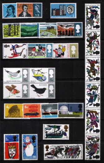 view larger image for Commemorative Year Sets -  (1966) - <BR/>