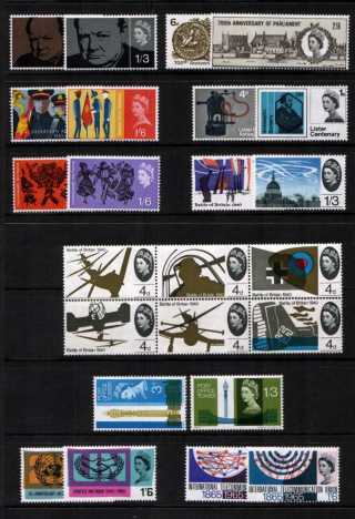 view larger image for Commemorative Year Sets -  (1965) - <BR/>