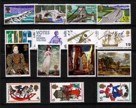 view larger image for Commemorative Year Sets -  (1968) - <BR/>