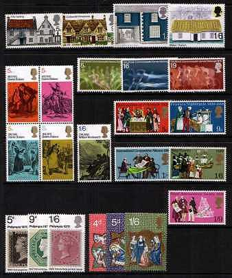 view larger image for Commemorative Year Sets -  (1970) - <BR/>