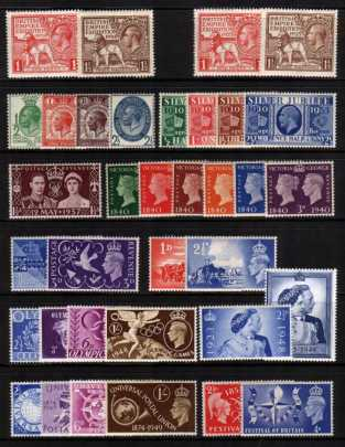 view larger image for Commemorative Year Sets -  (1924-1952) - <BR/> 12 Sets - 35 stamps