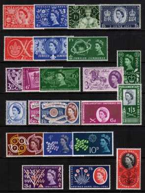 view larger image for Commemorative Year Sets -  (1953-1961) - <BR/>