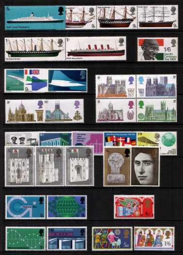 view larger image for Commemorative Year Sets -  (1969) - <BR/>