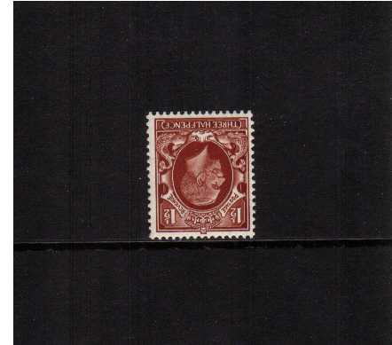 view larger image for SG 441Wi (1934) - 1�d Red-Brown with WATERMARK INVERTED