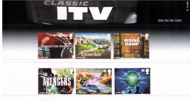 Stamp Image: view larger back view image for Classic ITV Television<br/><br/>