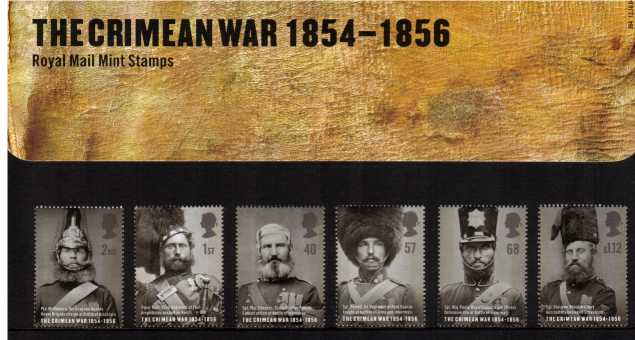 Stamp Image: view larger back view image for The Crimean War<br/><br/>