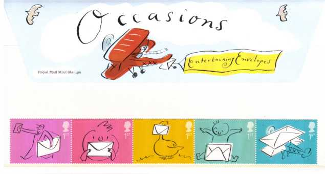 Stamp Image: view larger back view image for Occasions<br/><br/>
