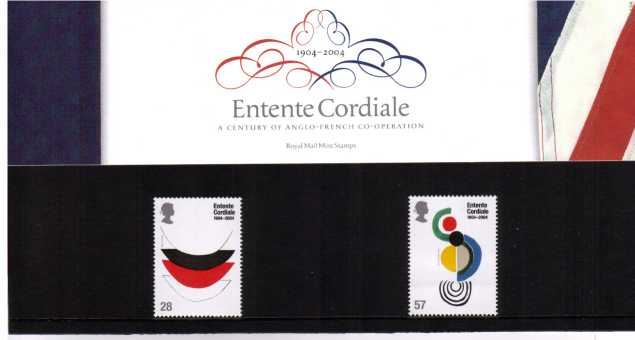 Stamp Image: view larger back view image for Entente Cordiale<br/><br/>