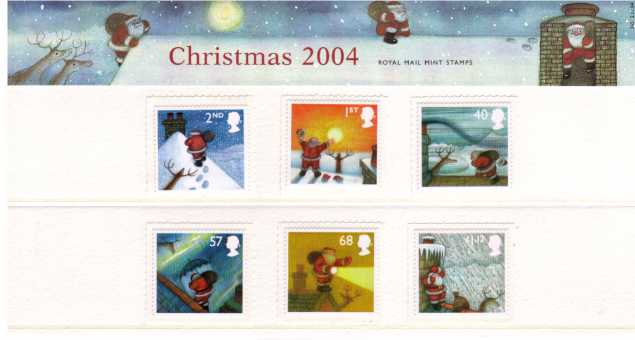 Stamp Image: view larger back view image for Christmas<br/><br/>