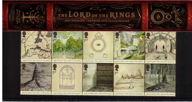 Stamp Image: view larger back view image for Lord of the Rings<br/><br/>