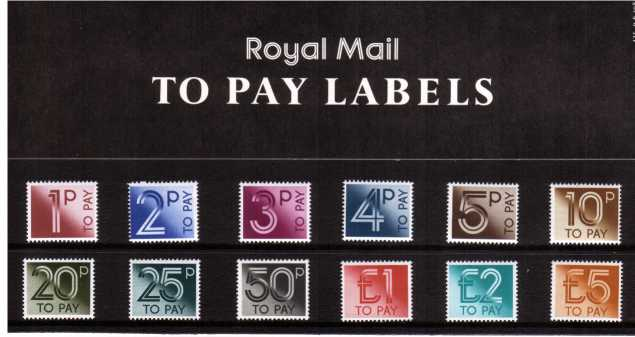 Stamp Image: view larger back view image for POSTAGE DUES