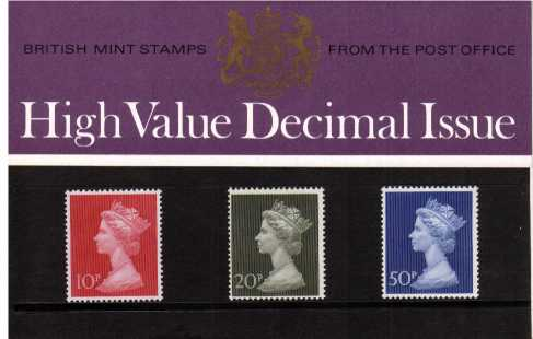 Stamp Image: view larger back view image for MACHIN 10p-50p<br/><br/>