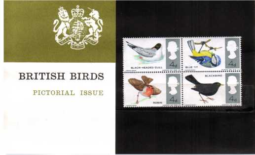 Stamp Image: view larger back view image for British Birds
